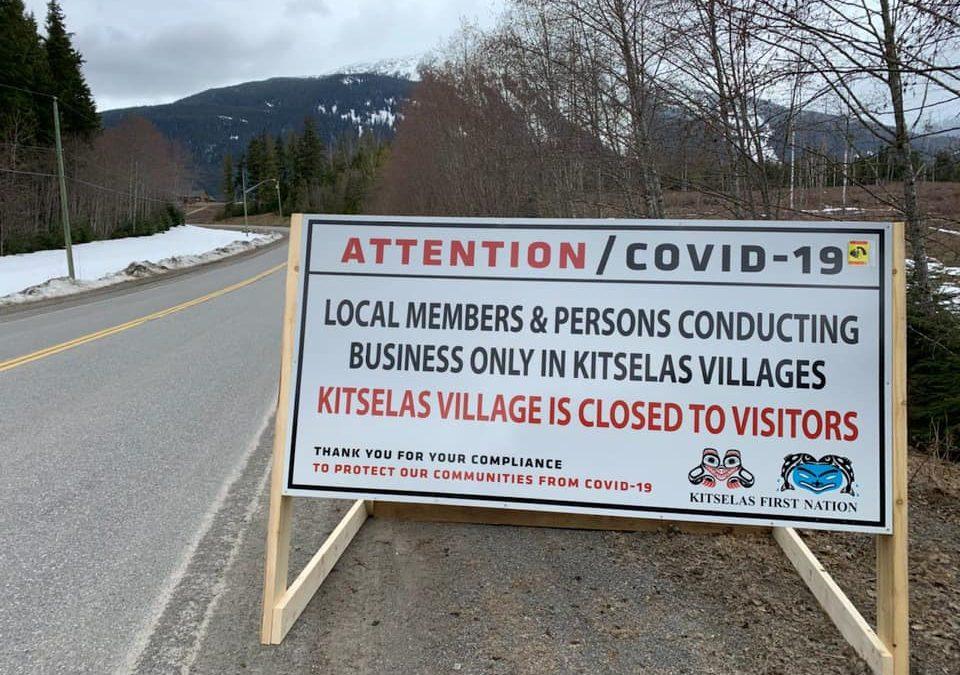 Kitselas/Kulspai Community Closure Notice
